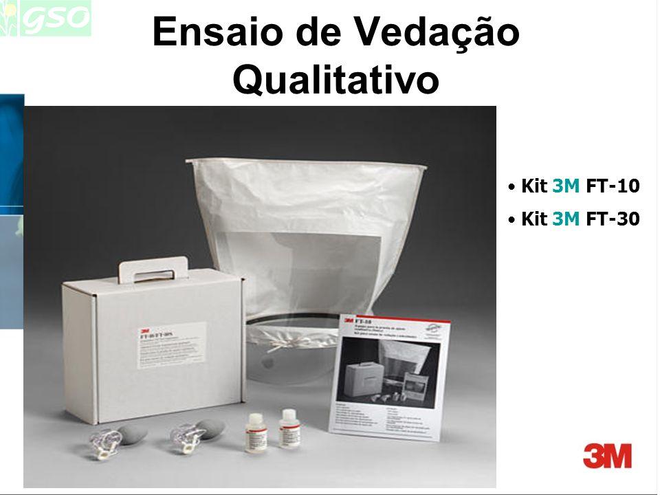 Filtros x Ensaios Qualitativos -Sacarina, Bitrex: filtros mecânicos P1, P2 ou P3 -Fumos Irritantes: filtro mecânico P3 - Acetato de Isoamila: filtro p