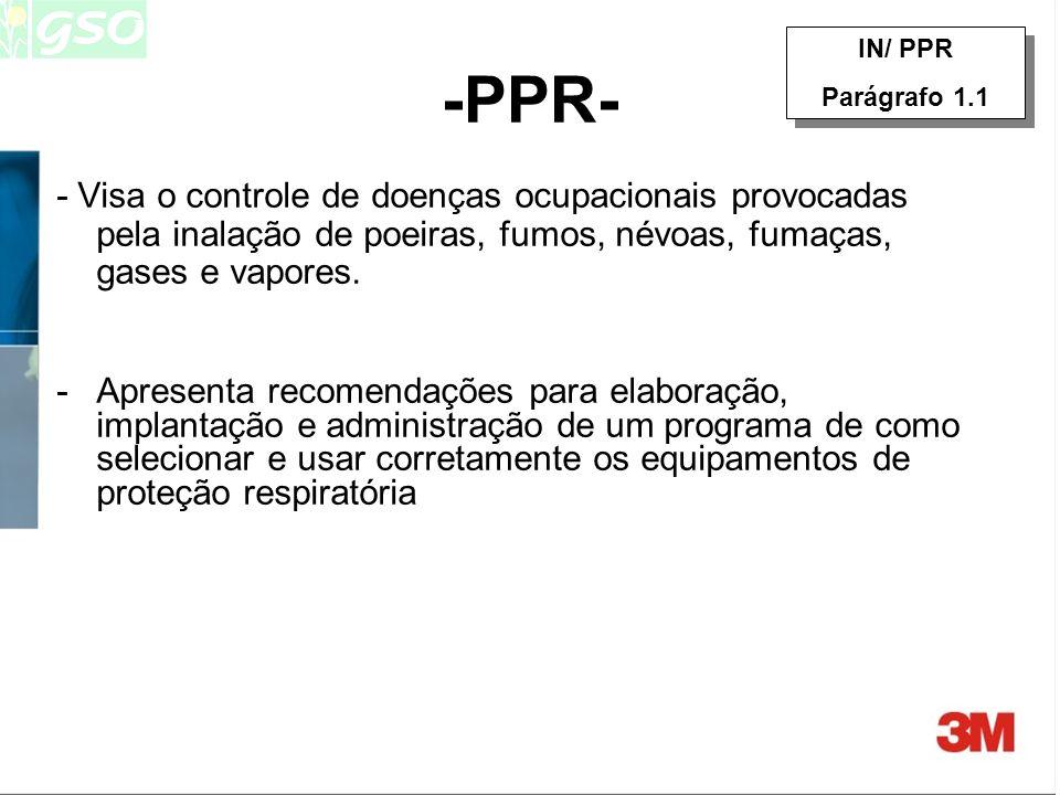 Conjunto de medidas práticas e administrativas Devem ser adotadas por toda empresa onde for necessário o uso de respiradores É obrigatório desde 15 de