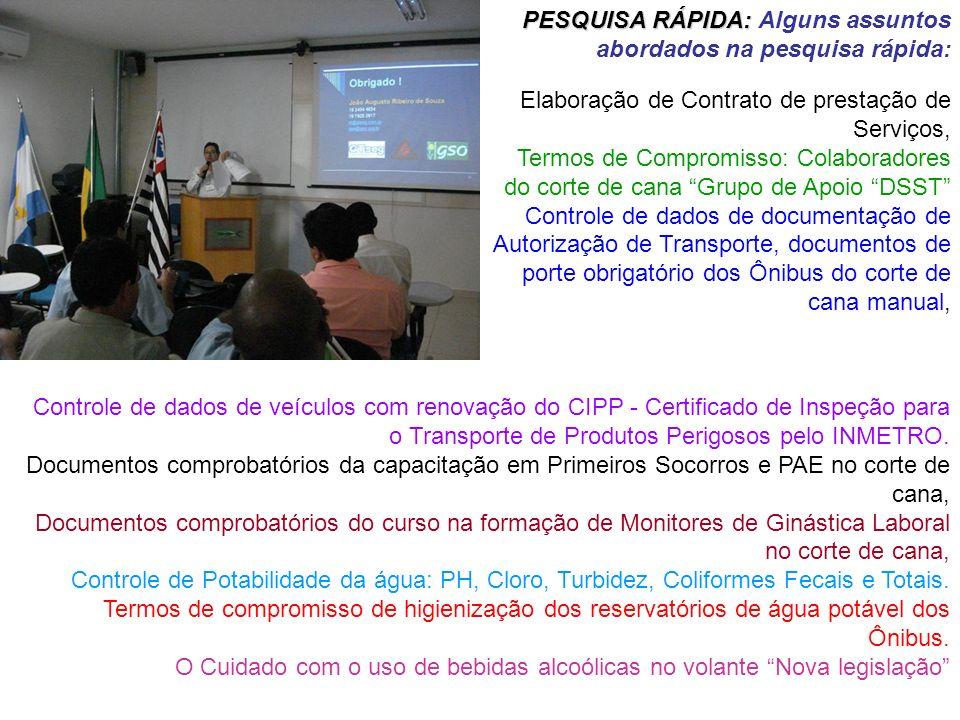 Controle de dados de veículos com renovação do CIPP - Certificado de Inspeção para o Transporte de Produtos Perigosos pelo INMETRO. Documentos comprob
