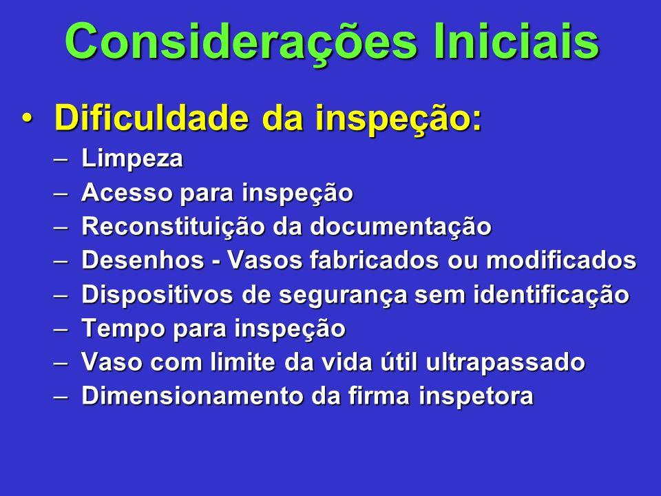 Todo vaso de pressão enquadrado nas categorias I e II deve possuir Manual de Operação de fácil acesso aos operadores.