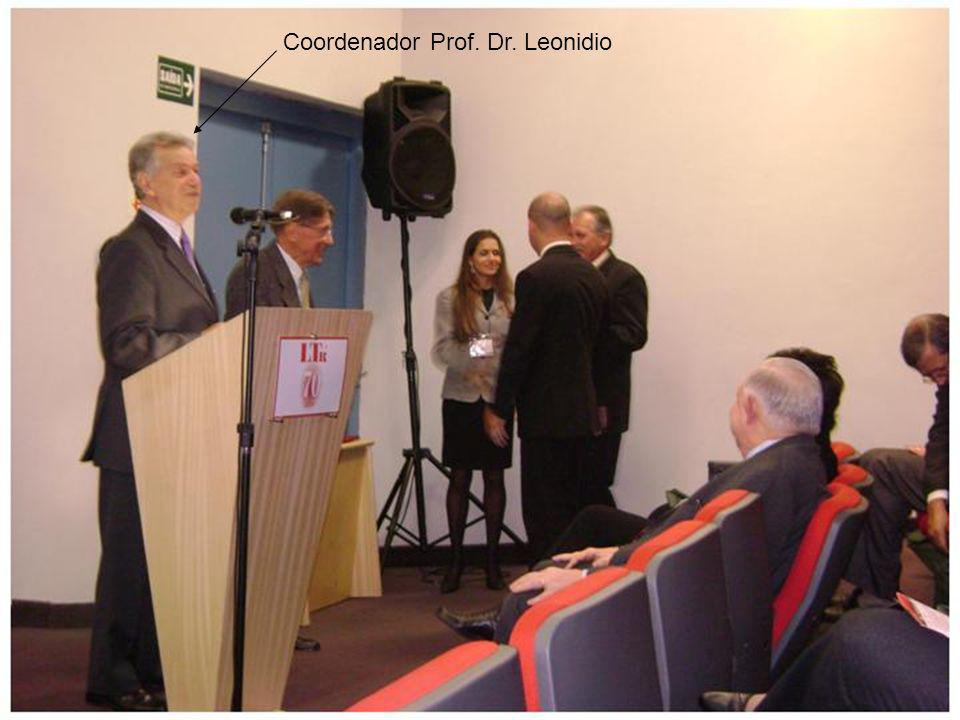 Coordenador Prof. Dr. Leonidio