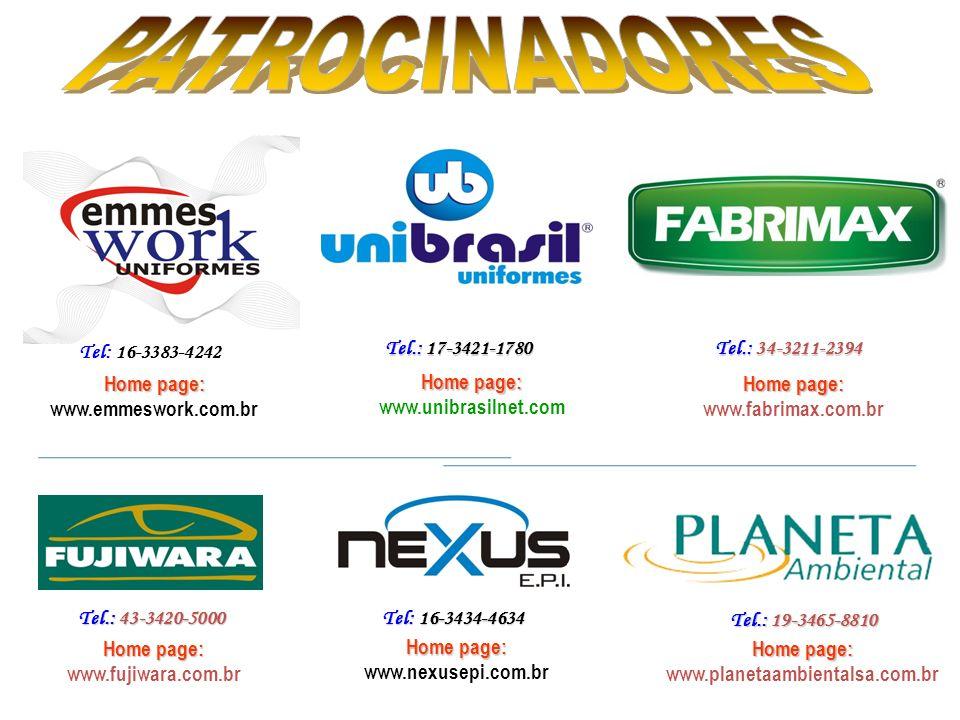 Tel: 16-3383-4242 Tel.: 17-3421-1780 Tel.: 34-3211-2394 Home page: www.emmeswork.com.br Home page: www.unibrasilnet.com Home page: Home page: www.fabr
