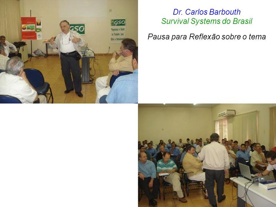 Dr. Carlos Barbouth Survival Systems do Brasil Pausa para Reflexão sobre o tema