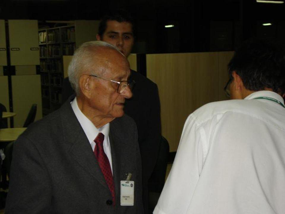 Tivemos a oportunidade de conhecer pessoalmente o ex- ministro do Trabalho Arnaldo Prieto.