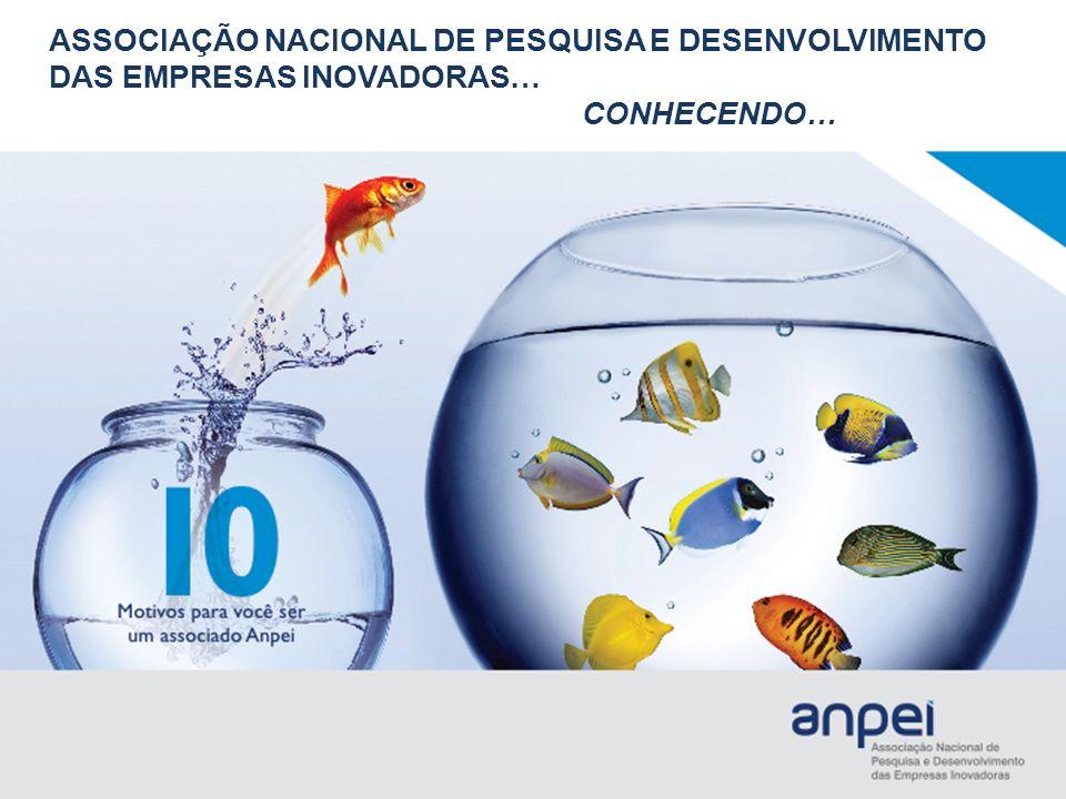 INOVAÇÃO TECNOLÓGICA NA ESTRATÉGIA COMPETITIVA missão A missão da Anpei é: Estimular a Inovação Tecnológica nas Empresas.