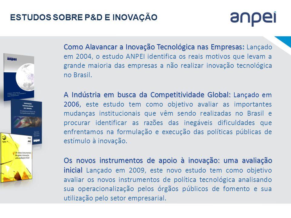 Como Alavancar a Inovação Tecnológica nas Empresas: Como Alavancar a Inovação Tecnológica nas Empresas: Lançado em 2004, o estudo ANPEI identifica os