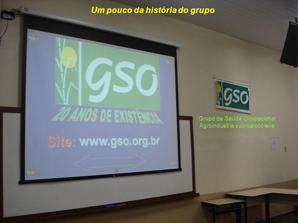 Um pouco da história do grupo Grupo de Saúde Ocupacional Agroindústria sucroalcooleira