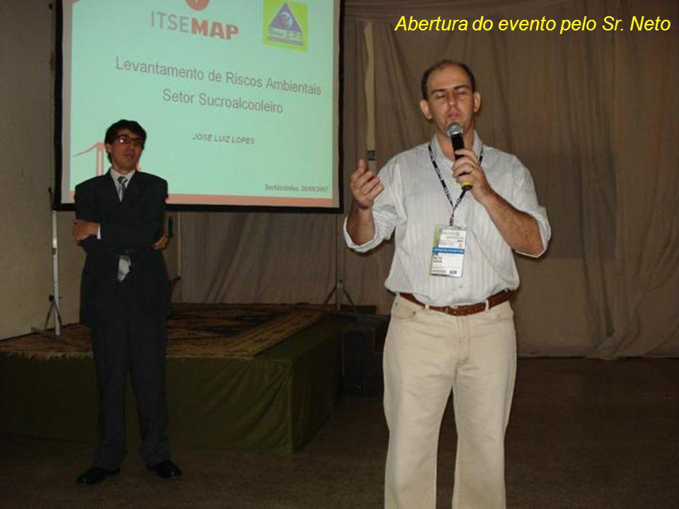 Palestrante Sr. José Luiz Lopes da Itsemap do Brasil.