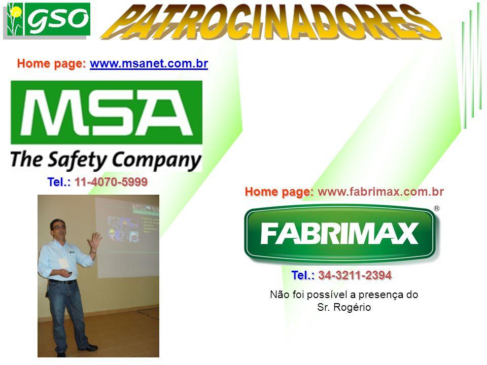 Home page: Home page: www.msanet.com.brwww.msanet.com.br Tel.: 11-4070-5999 Home page: Home page: www.fabrimax.com.br Tel.: 34-3211-2394 Não foi possí
