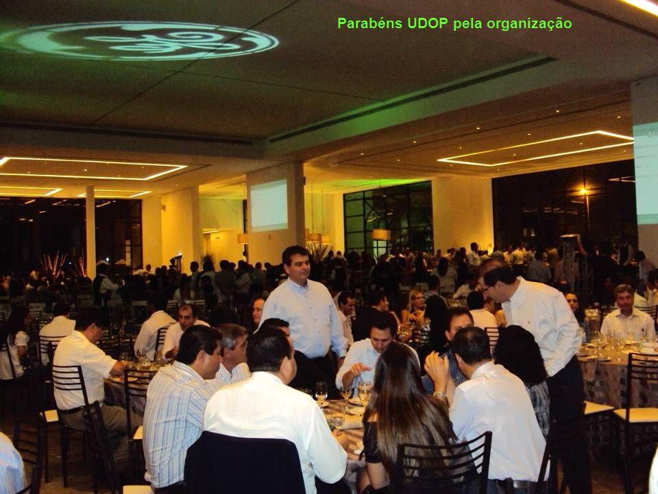 Parabéns UDOP pela organização