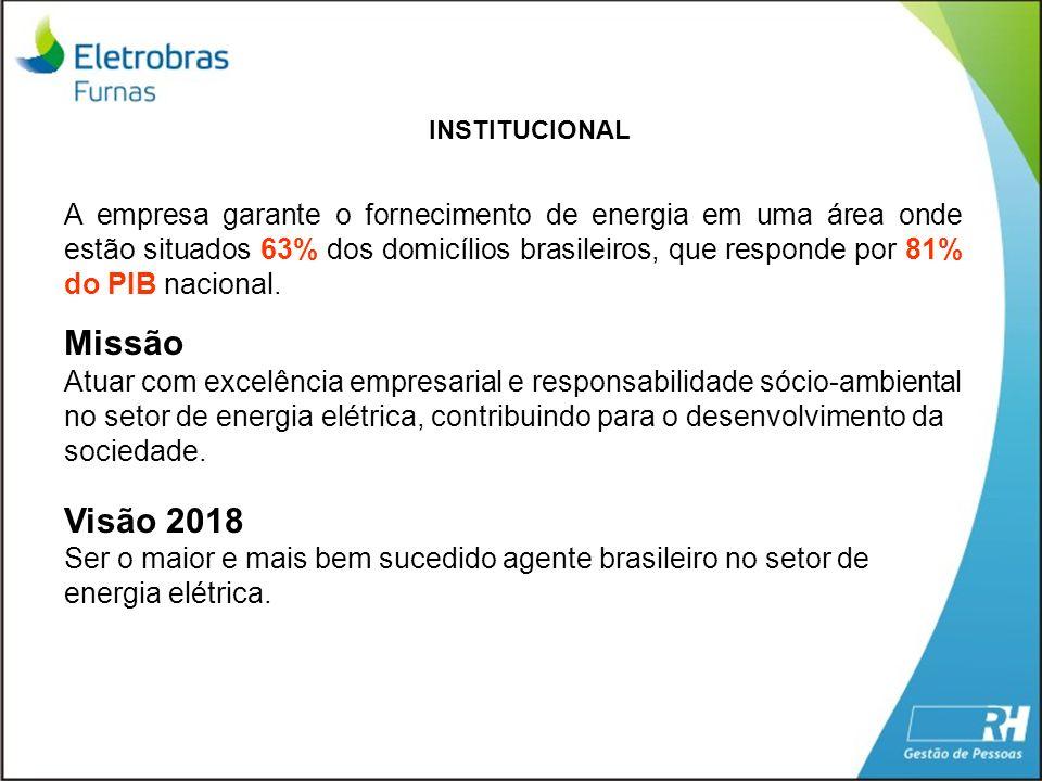 A empresa garante o fornecimento de energia em uma área onde estão situados 63% dos domicílios brasileiros, que responde por 81% do PIB nacional. Miss