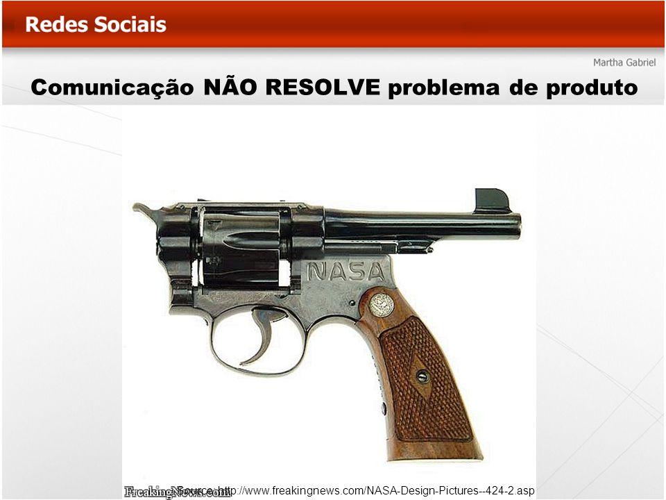 Comunicação NÃO RESOLVE problema de produto Source: http://www.freakingnews.com/NASA-Design-Pictures--424-2.asp