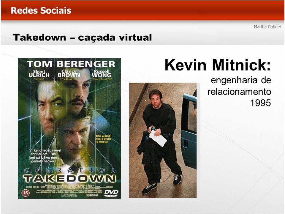 Takedown – caçada virtual Kevin Mitnick: engenharia de relacionamento 1995