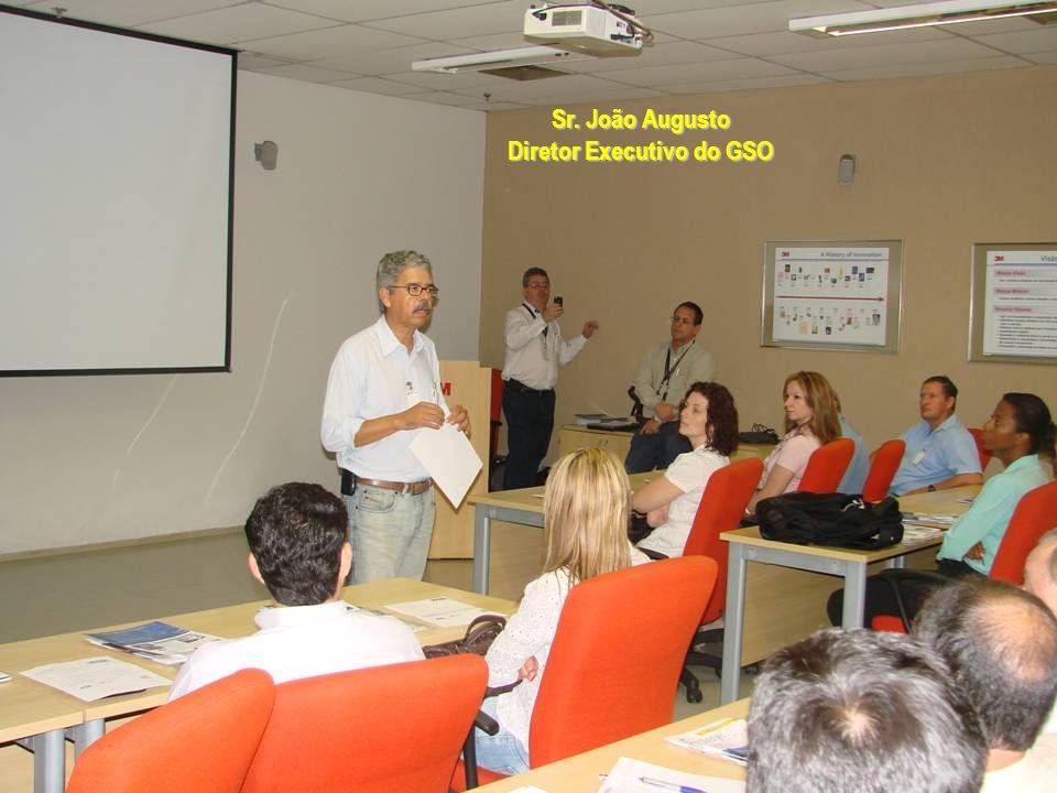 Sr. João Augusto Diretor Executivo do GSO