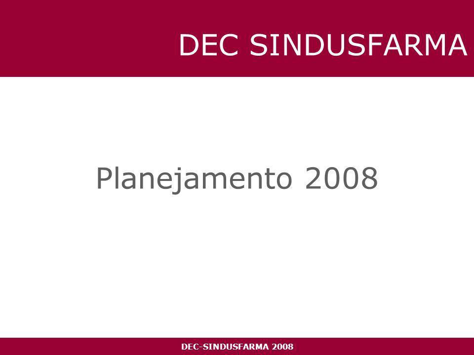 DEC-SINDUSFARMA 2008 DEC SINDUSFARMA Planejamento 2008