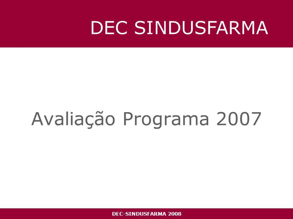 DEC-SINDUSFARMA 2008 Reconhecimento + 57%