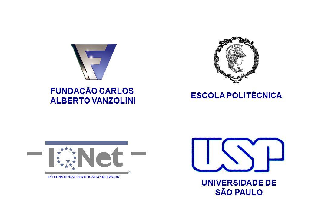 FUNDAÇÃO CARLOS ALBERTO VANZOLINI ESCOLA POLITÉCNICA UNIVERSIDADE DE SÃO PAULO INTERNATIONAL CERTIFICATION NETWORK