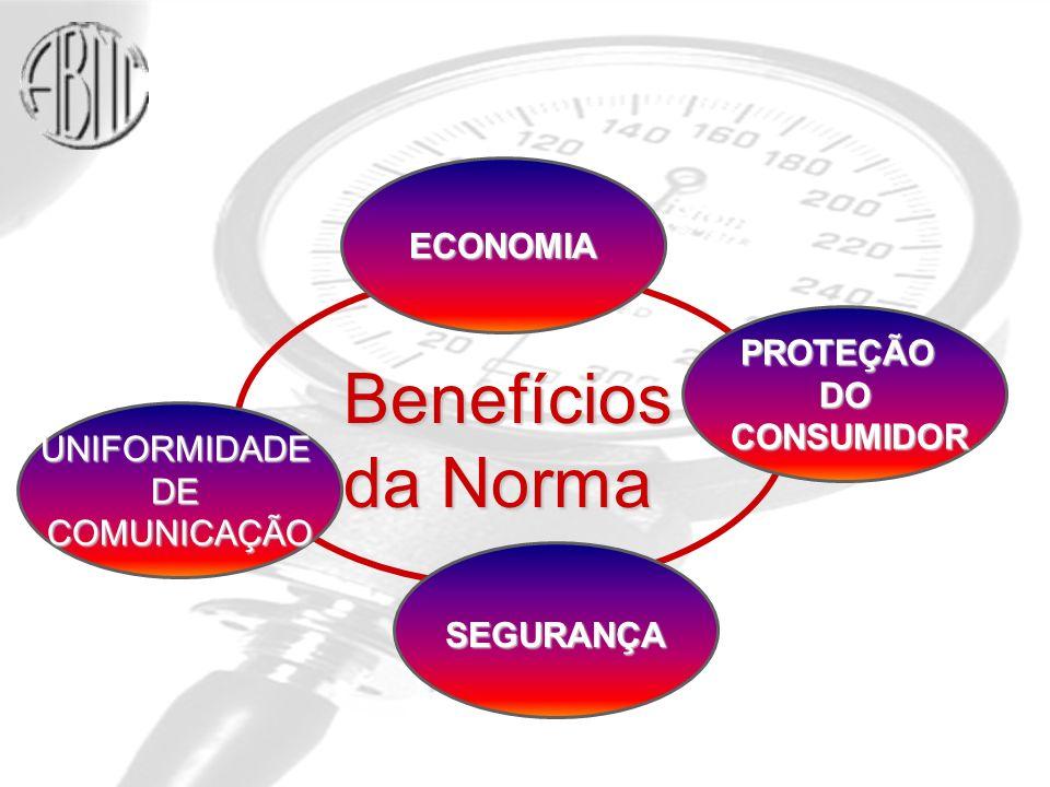 PROTEÇÃODO CONSUMIDOR CONSUMIDOR SEGURANÇA UNIFORMIDADEDECOMUNICAÇÃO ECONOMIA Benefícios da Norma