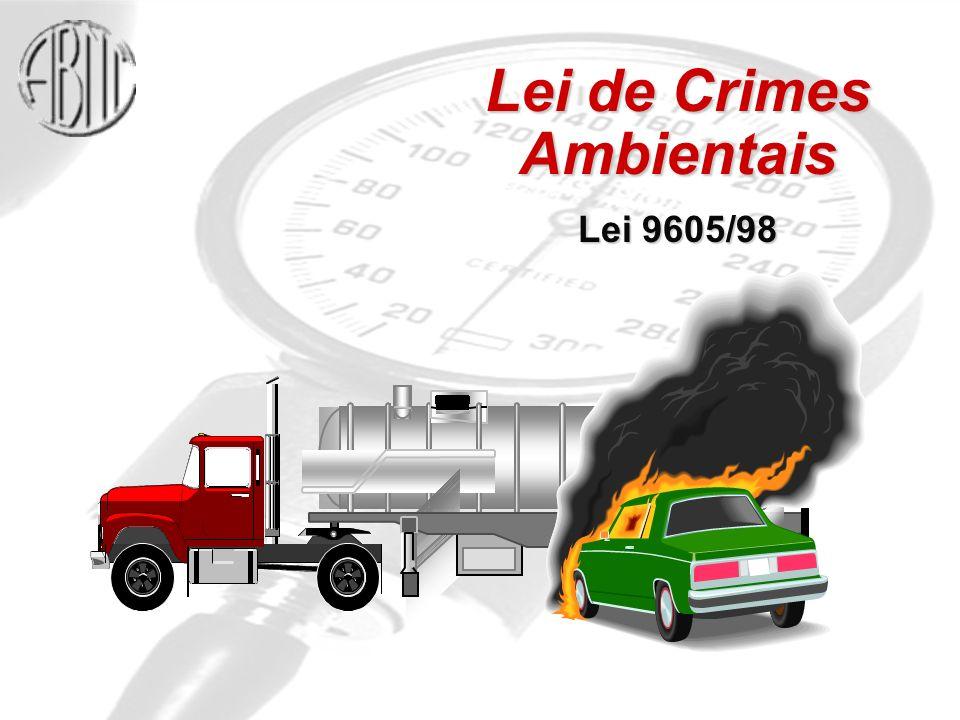 Lei de Crimes Ambientais Lei 9605/98