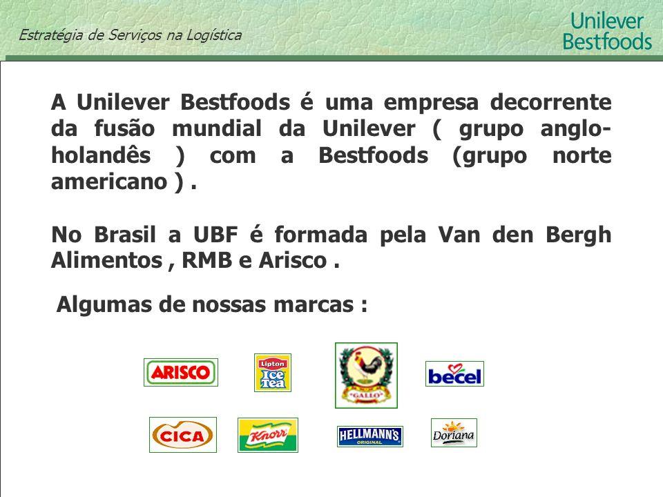 A Unilever Bestfoods é uma empresa decorrente da fusão mundial da Unilever ( grupo anglo- holandês ) com a Bestfoods (grupo norte americano ). No Bras