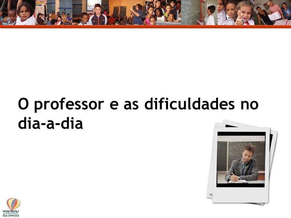 O professor e as dificuldades no dia-a-dia