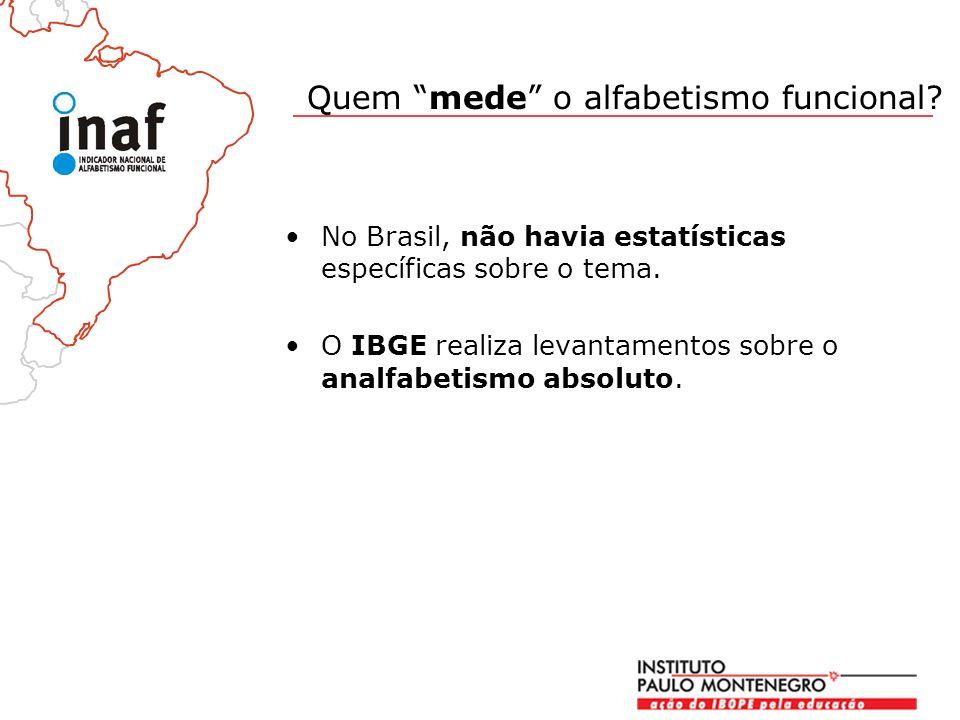 No Brasil, não havia estatísticas específicas sobre o tema.
