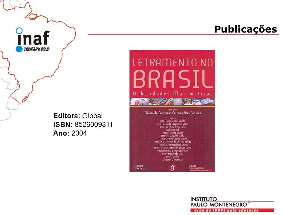Publicações Editora: Global ISBN: 8526009311 Ano: 2004