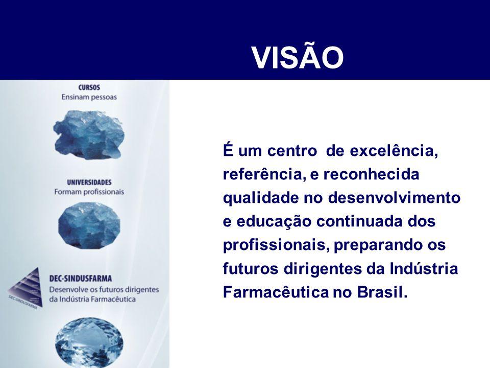 É um centro de excelência, referência, e reconhecida qualidade no desenvolvimento e educação continuada dos profissionais, preparando os futuros dirigentes da indústria farmacêutica no Brasil.