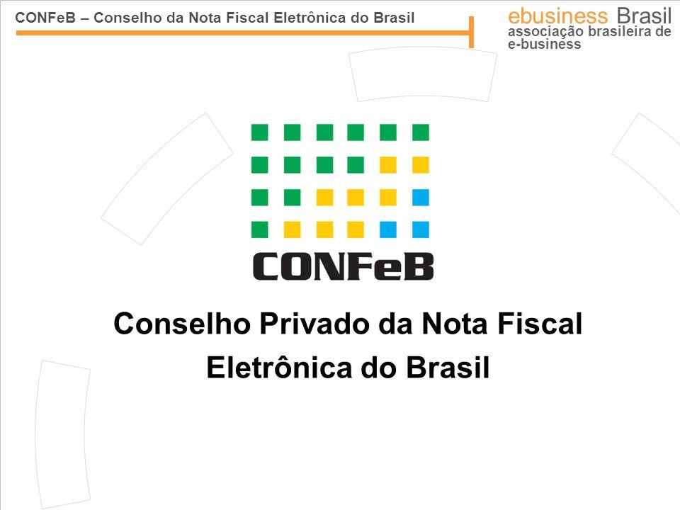 CONFeB – Conselho da Nota Fiscal Eletrônica do Brasil ebusiness Brasil associação brasileira de e-business Conselho Privado da Nota Fiscal Eletrônica