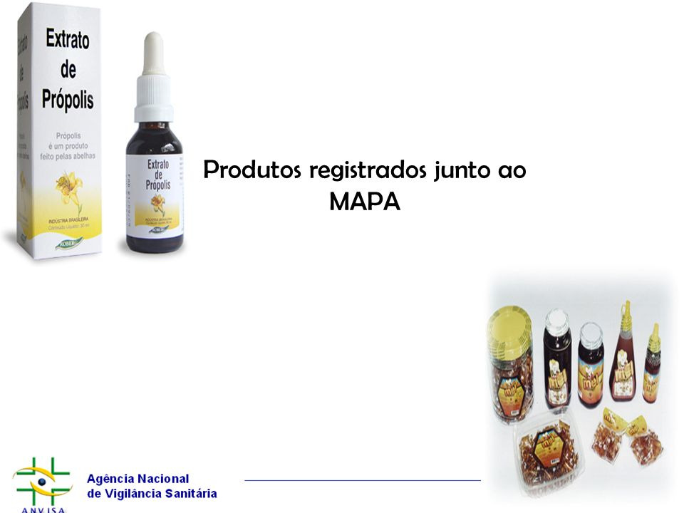 Produtos registrados junto ao MAPA