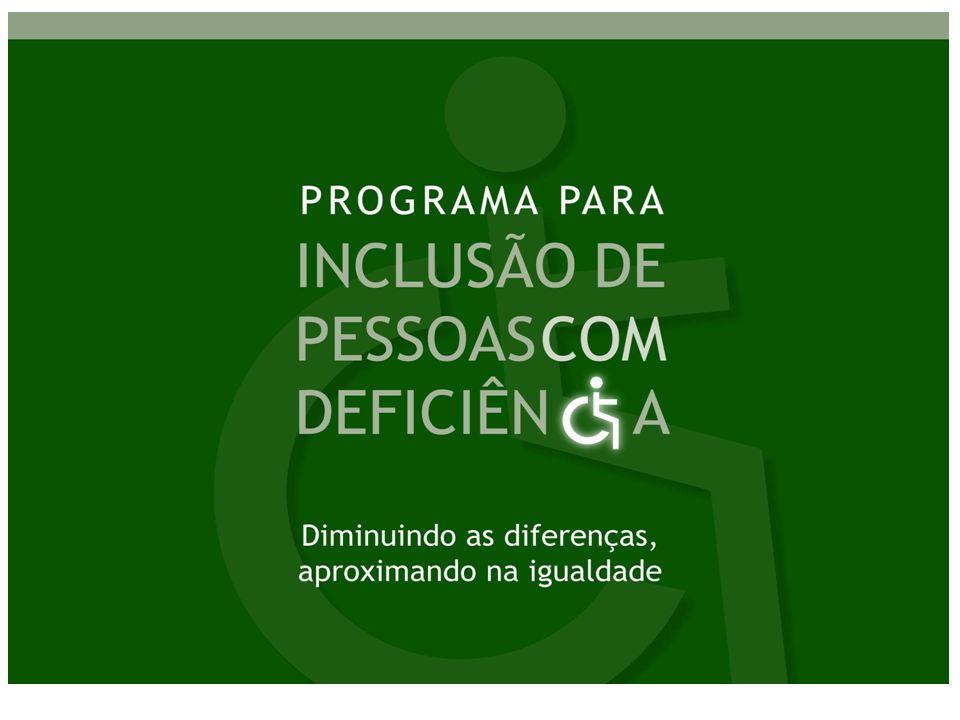 14,5% da população brasileira possui algum tipo de deficiência Censo 2000 / IBGE Panorama da Deficiência no Brasil