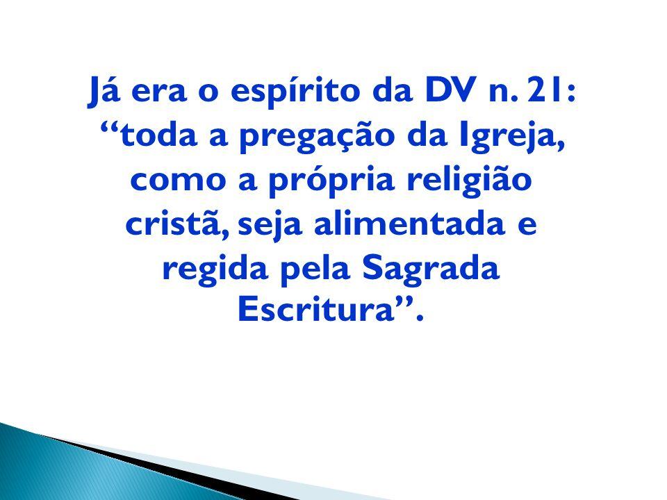 D. Jacinto Bergman - I Congresso ABP Falando da presença da Palavra de Deus na vida e missão da Igreja: uma nova linguagem e uma nova compreensão a Ig