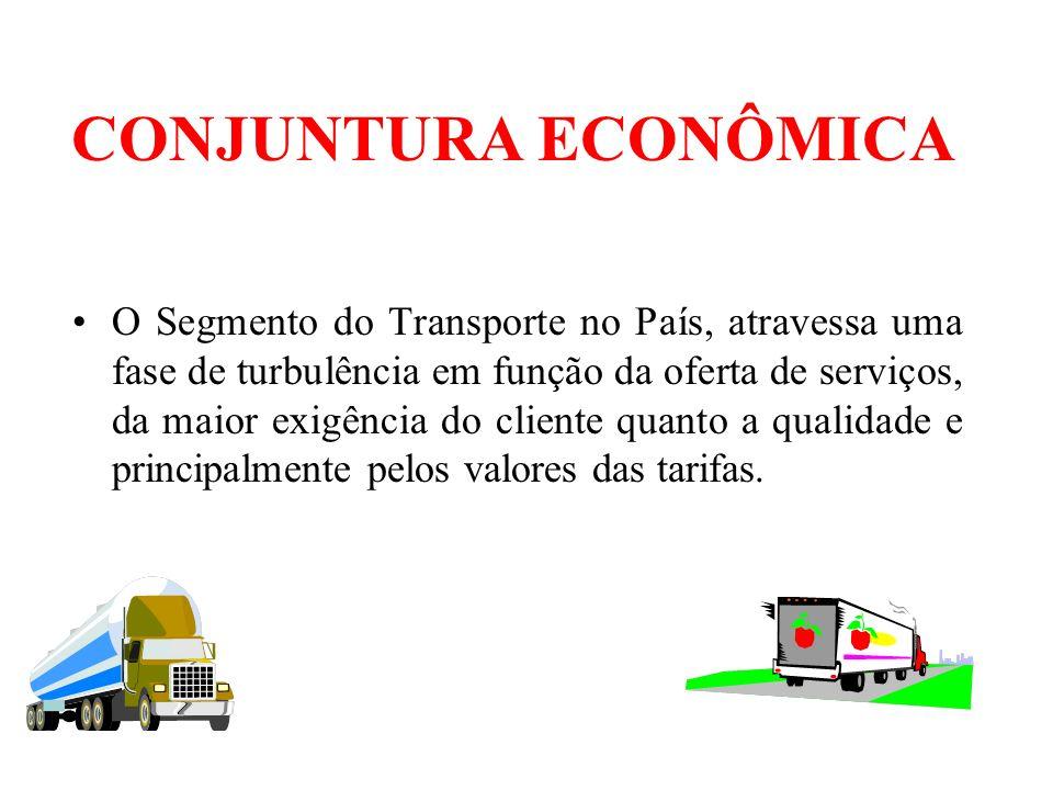 CONJUNTURA ECONÔMICA Grande Competitividade - Globalização Queda na Receita – Nivelamento dos Preços Altos Custos Operacionais - Transporte Problemas Internos - Descontrole