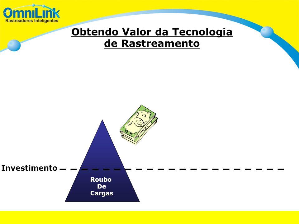 Obtendo Valor da Tecnologia de Rastreamento Investimento Roubo De Cargas