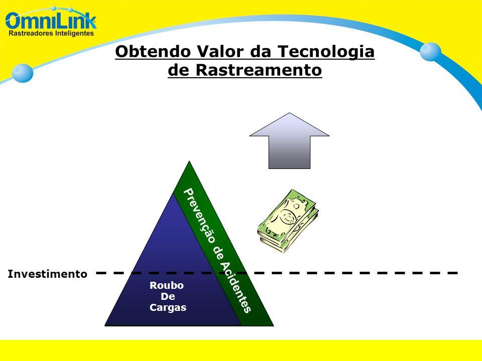 Obtendo Valor da Tecnologia de Rastreamento Investimento Roubo De Cargas Prevenção de Acidentes