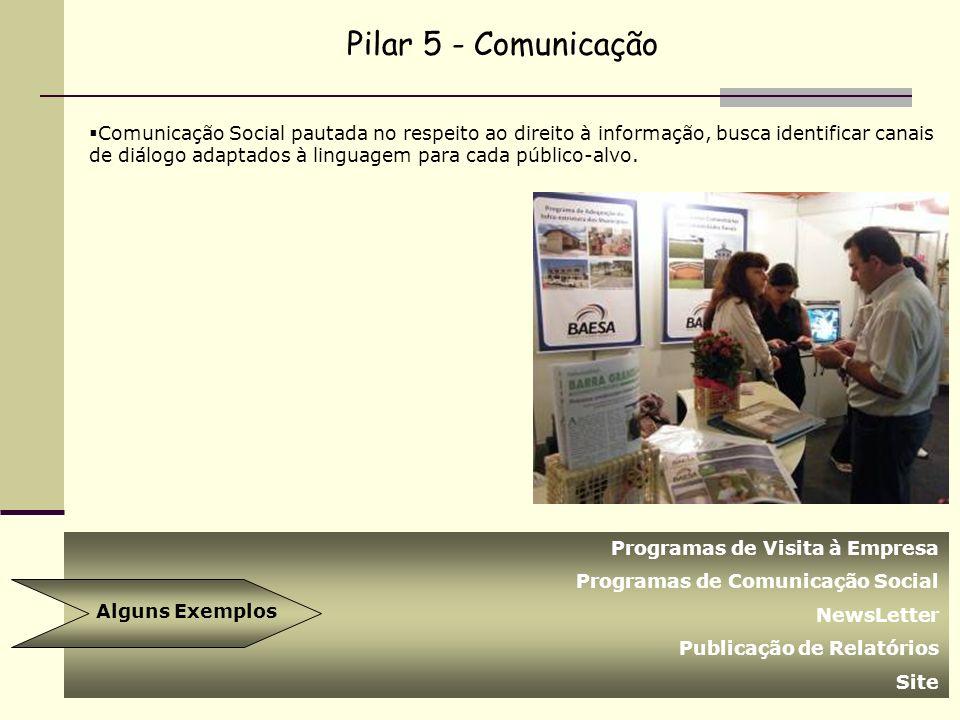 Comunicação Social pautada no respeito ao direito à informação, busca identificar canais de diálogo adaptados à linguagem para cada público-alvo. Pila