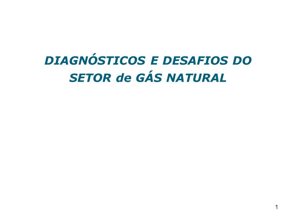 1 DIAGNÓSTICOS E DESAFIOS DO SETOR de GÁS NATURAL