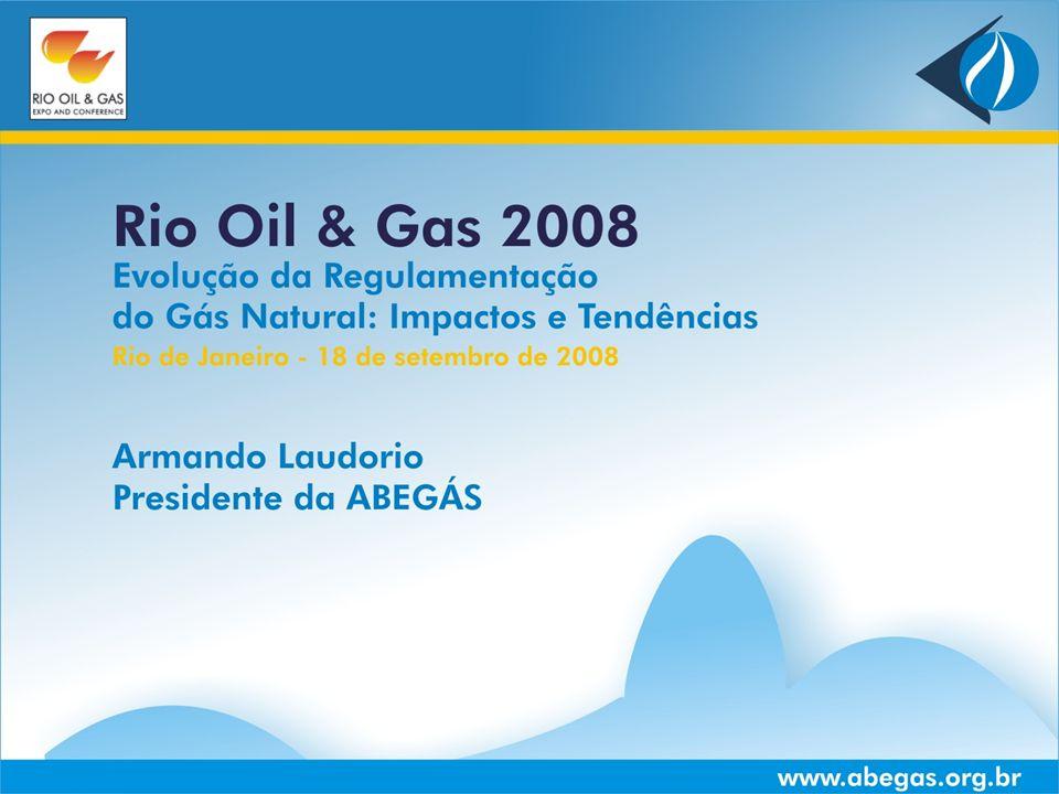 www.abegas.org.brRio de Janeiro - RJ | 18 de Setembro de 2008Slide 12 PRODUTOR TRANSPORTADOR CARREGADOR DISTRIBUIDORAS CONSUMIDORES PODER CONCEDENTE FEDERAL PODER CONCEDENTE ESTADUAL CITY GATE REGRAS INDEPENDENTES AGENTE REGULADOR ANP AGENTE REGULADOR AGÊNCIAS ESTADUAIS REGRAS INDEPENDENTES LEGISLAÇÃO VIGENTE PODERES CONCEDENTES DO GÁS NATURAL