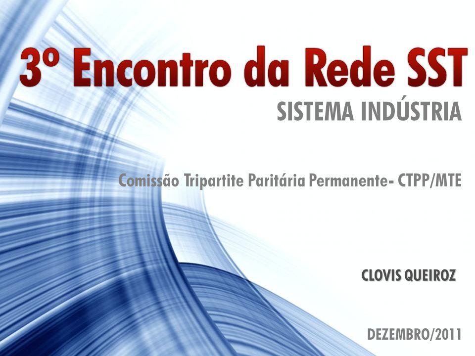 1 CLOVIS QUEIROZ SISTEMA INDÚSTRIA Comissão Tripartite Paritária Permanente- CTPP/MTE DEZEMBRO/2011