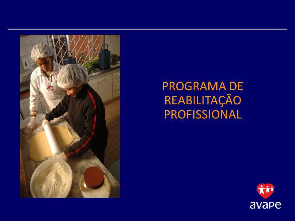 PROGRAMA DE REABILITAÇÃO PROFISSIONAL