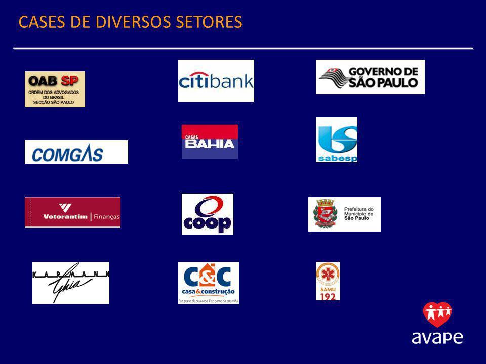 CASES DE DIVERSOS SETORES