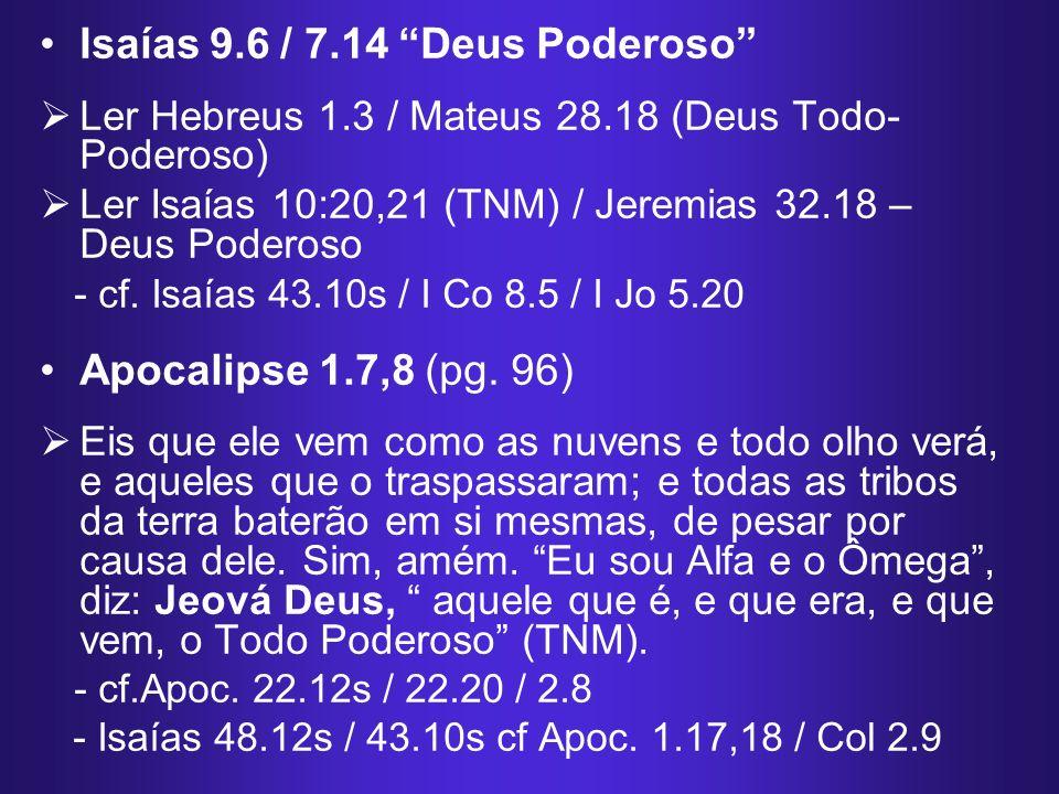 Erros na Tradução: Êxodo 3.14 e João 8.58...Mostrarei ser...