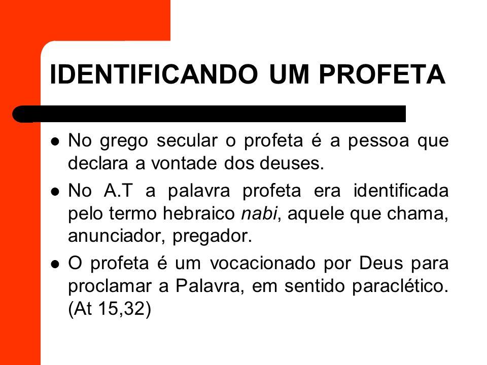 DISCERNINDO A PROFECIA (I Tessalonicenses 5,19-22) O dom de profecia no N.T está relacionado com o ministério da Palavra.