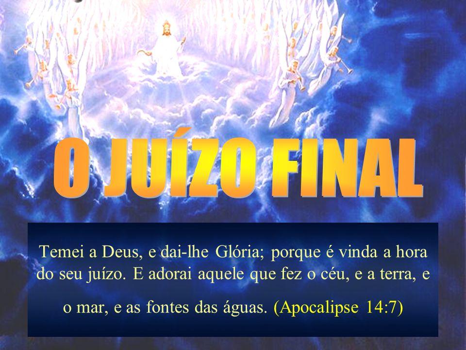 22 A VITÓRIA DA IGREJA (Cap 21-22) NOVA ORDEM INSTAURADA (21:1-8) Novos Céus e Nova Terra - Como o ser humano, a natureza será resgatada do poder do pecado (Rm 8,20-22).