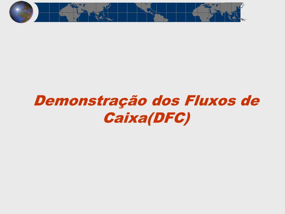 Demonstração dos Fluxos de Caixa(DFC)