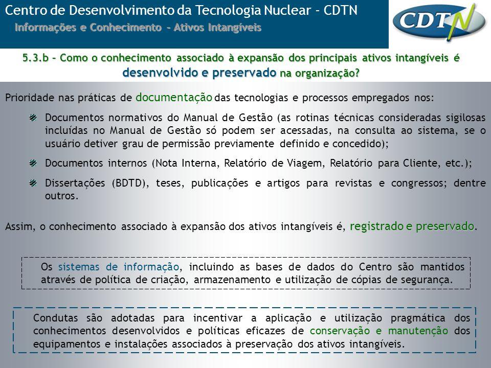 Prioridade nas práticas de documentação das tecnologias e processos empregados nos: Documentos normativos do Manual de Gestão (as rotinas técnicas con