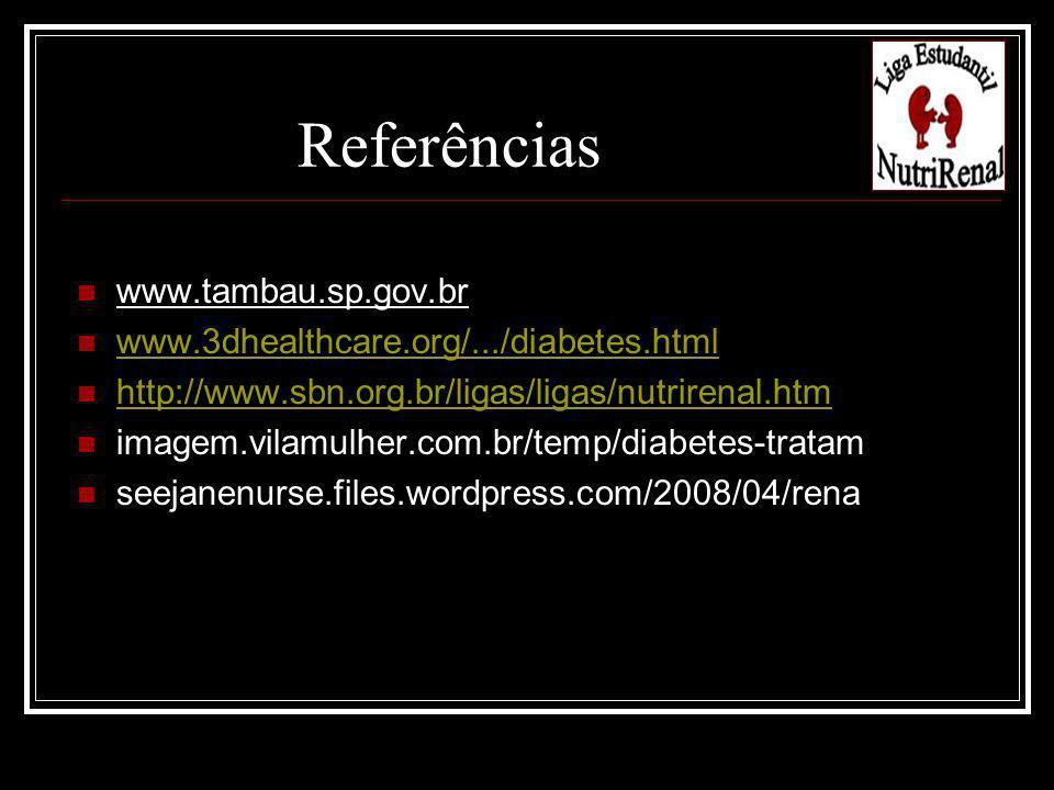 www.tambau.sp.gov.br www.3dhealthcare.org/.../diabetes.html http://www.sbn.org.br/ligas/ligas/nutrirenal.htm imagem.vilamulher.com.br/temp/diabetes-tr