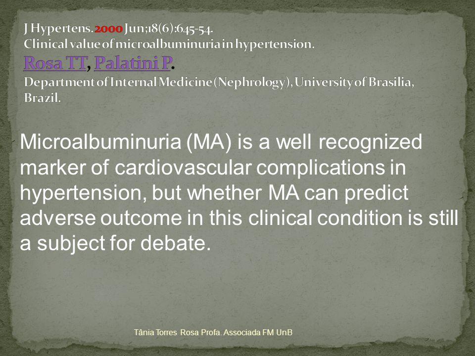 Maximização da inibição do SRAA Intensificação do controle da PA Controle da dislipidemia de forma multimodal, que inclua ajustes no estilo de vida Tânia Torres Rosa Profa.