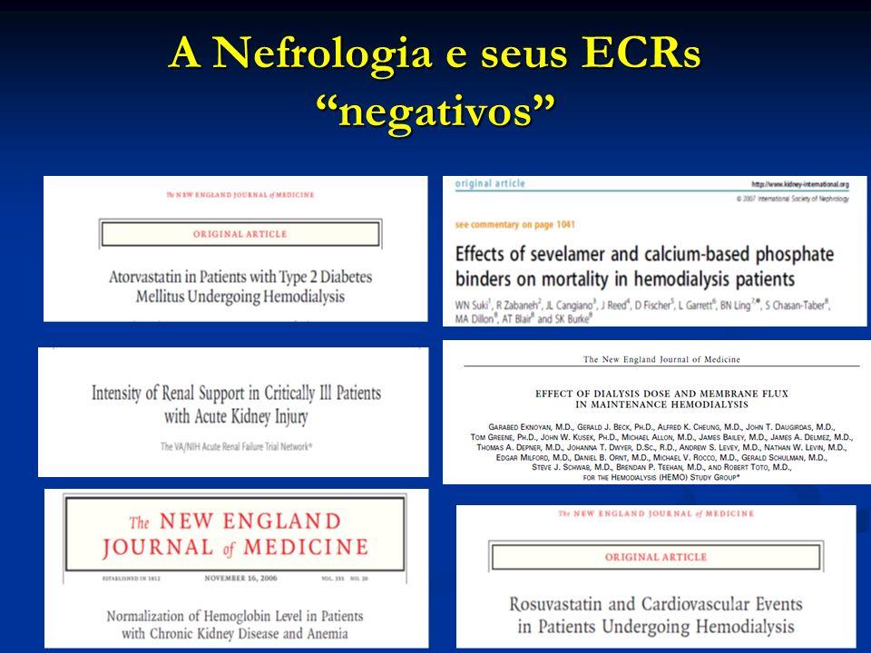 A Nefrologia e seus ECRs negativos