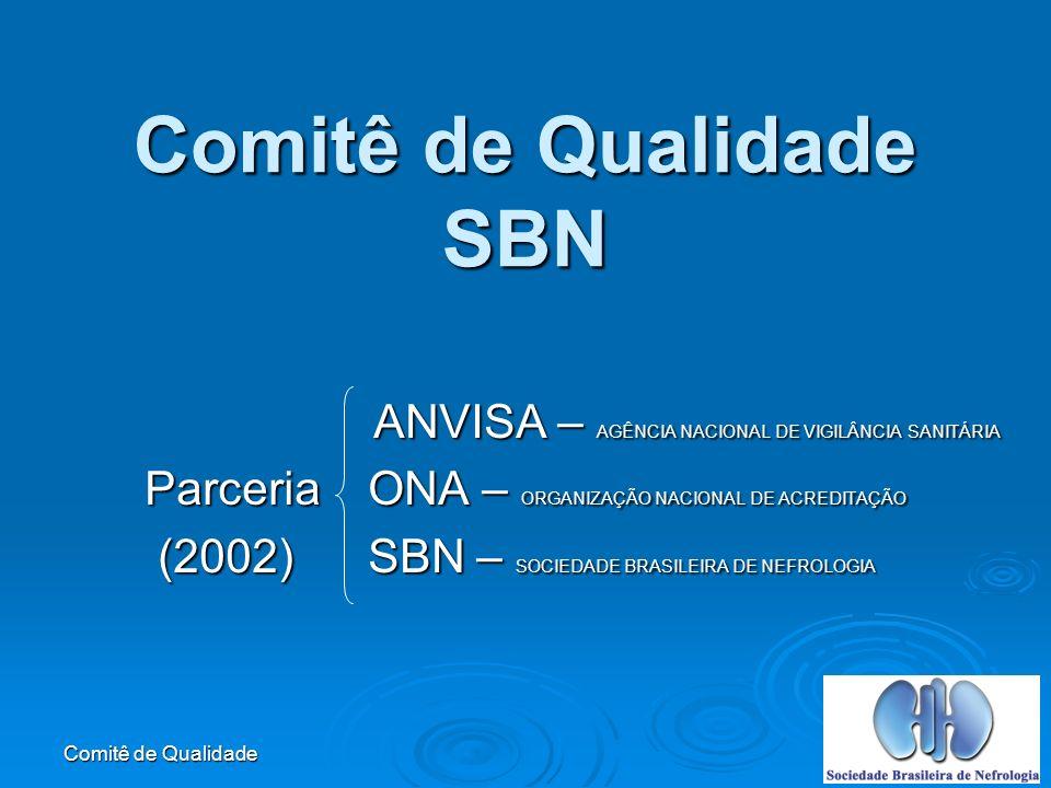 Comitê de Qualidade Classificação dos Processos PROCESSOS PRIMÁRIOS : que resultam em um produto ou serviço.